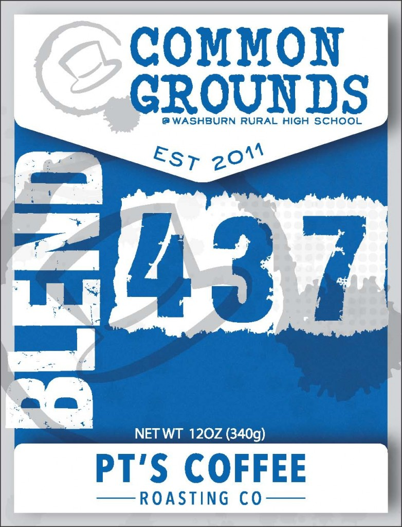 Label Front - School Blue - 4.33x3.25